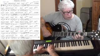 Angel Eyes - guitar & piano Jazz cover ( Matt Dennis )  Yvan Jacques