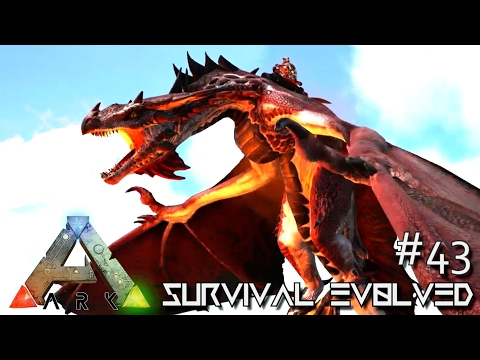 Ark: Survival Evolved   Best Alpha Fire Wyvern Tame Lvl 1000+ !