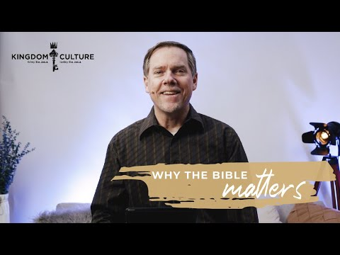 Why The Bible Matters   Full Service   Christ Community Church