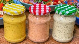3 Receitas Maravilhosas De Molhos Para Saladas