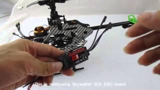 Assemble steps of F45  brushless motor
