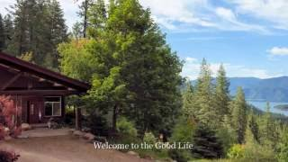 *FOR SALE* North Idaho Mountain Retreat with Spectacular Lake & Mountain Views