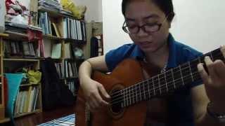 Dạ khúc cho tình nhân (Lê Uyên Phương) - Guitar cover Ca Dao