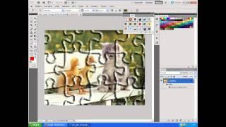 effetto puzzle photoshop cs5