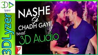 #yrf Nashe Si Chadh Gayi Song in real 3d Audio #MostViewedSong #3DLyzer