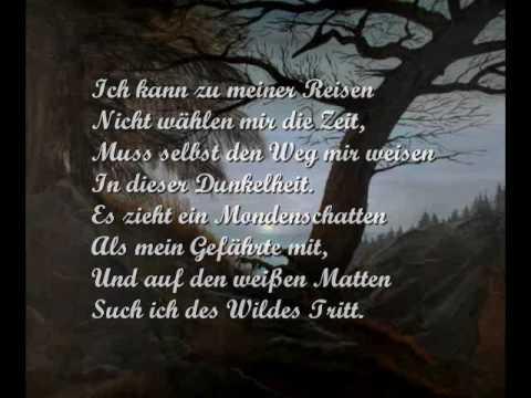 Gute Nacht - Hannes Wader singt Schubert - YouTube