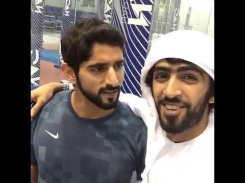 Sheikh Hamdan with Khalifa