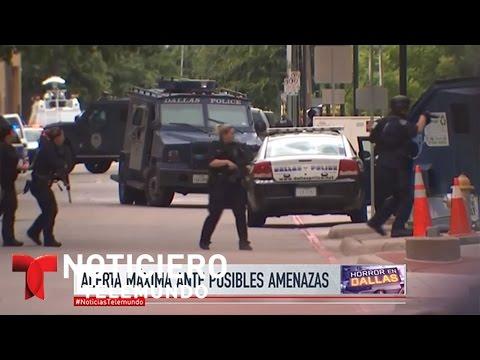 La policía de Dallas en la línea de fuego | Noticiero | Noticias Telemundo