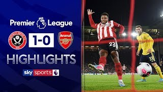 Mousset fires Blades to victory! | Sheffield United 1-0 Arsenal | Premier League Highlights