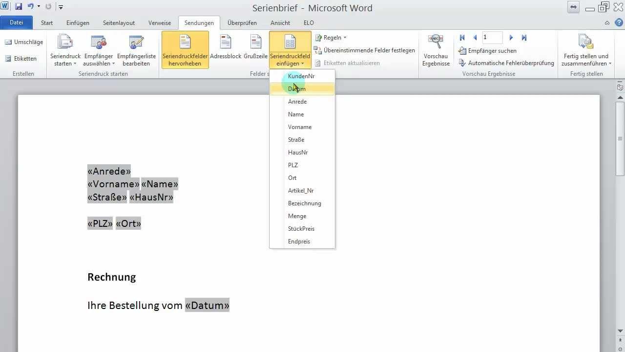 mac word datum automatisch aktualisieren