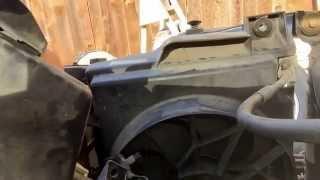 replacing an ac condensing fan motor 2002 dodge ram 1500 slt 5 9l