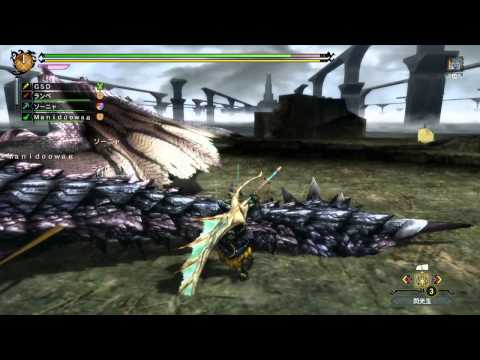 Monster Hunter 3 (Tri) G HD Ver. - Silver Rathalos 4 players online