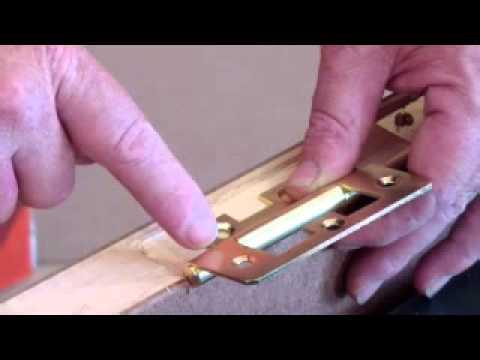 Mackie Flush Hinge Installation V1 - YouTube
