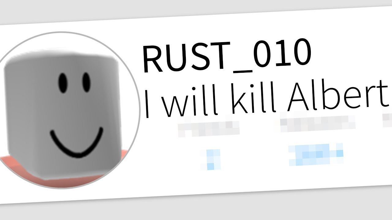 Roblox... PLEASE make him STOP.
