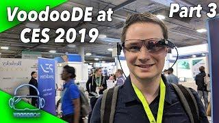 VooodooDE at CES 2019 Part 3 - Vuzix AR, AR Makeup and Shopping, Virtual Windows