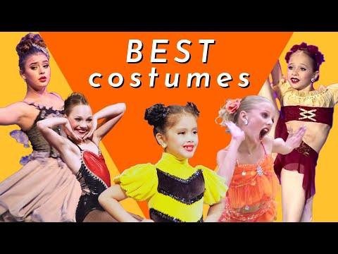 Each Girl's Best Costume   Dance Moms