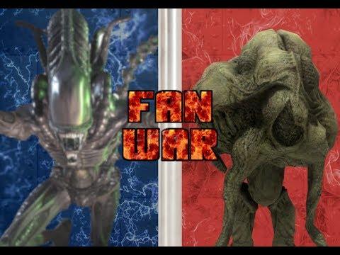 Fan War!!! Xenomorphs vs The Flood - YouTube  Fan War!!! Xeno...
