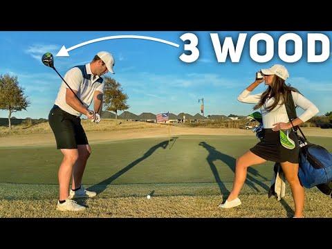 Wife Caddie Challenge | Brodie Smith Golf