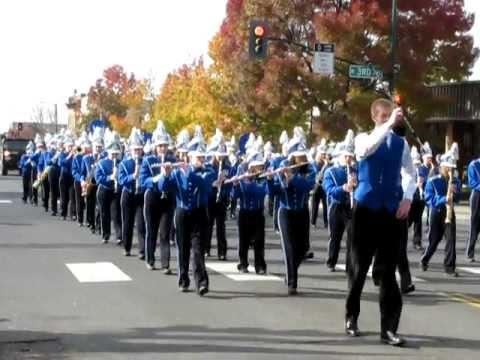 Walla Walla High School Marching Band .AVI