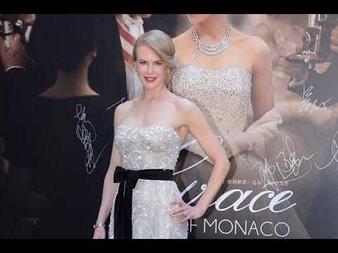 Nicole Kidman promotes 'Grace of Monaco' in Shanghai