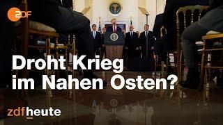 USA-Iran-Konflikt: Droht Krieg im Nahen Osten?   ZDFspezial vom 08.01.2020