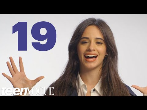 Camila Cabello Reveals 19 Facts About Herself in 60 Seconds  Teen Vogue