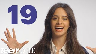 Camila Cabello Reveals 19 Facts About Herself in 60 Seconds | Teen Vogue