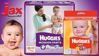 JAX Huggies™ Disposable Diapers || Dry™, Pants™ & Wonder-Pants™