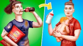 From Bad Dad to Good Dad / 12 DIY Barbie Ideas
