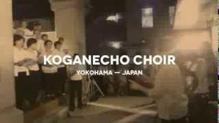 A local women choir group in Koganecho, Yokohama, Japan performs th...