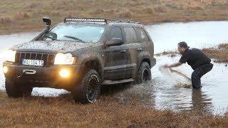 Jeep Grand Cherokee - car wash