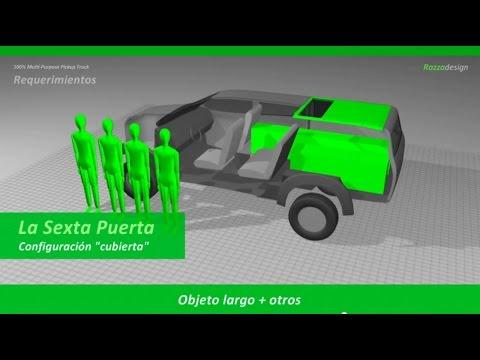 Extraordinaria solución para pickup doble cabina