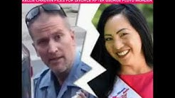 Killer Cop's Wife Files For Divorce!  Derrick Chauvin's / Kellie Chauvin
