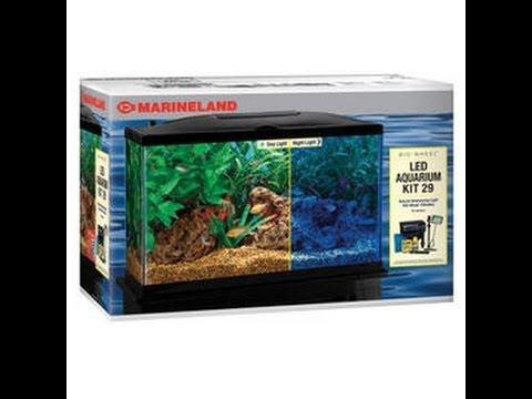 How to take care of a 29 gallon Marineland aquarium and more