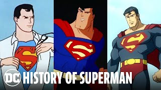 The Evolution of Superman | DC Animated History
