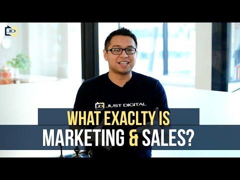 The TRUE Definition of Sales & Marketing by Hugo Fernandez / Just Digital Inc