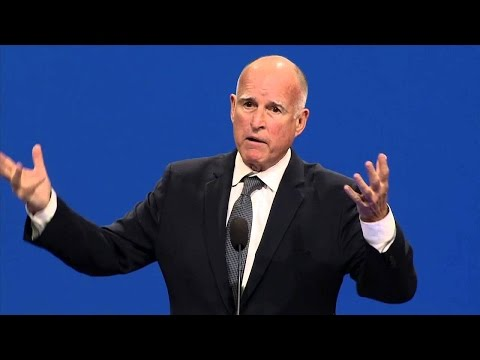 CALIFORNIA SHEEPLE TOLD THEY HAVE TO OBEY JERRY BROWN. CUCAMONGA WATER DISTRICT. DROUGHT.