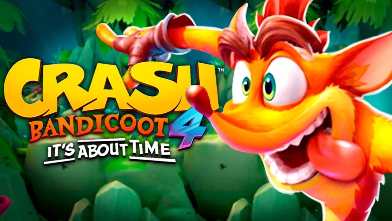 Crash Bandicoot 4 - PRIMEIRO gameplay da DEMO