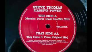 steve thomas they came in peace