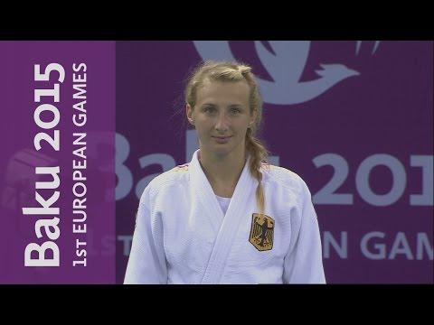 Martyna Trajdos wins the Womens -63kg Judo final   Judo   Baku 2012