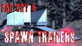 Far Cry 5 Semi Trailers not spawning