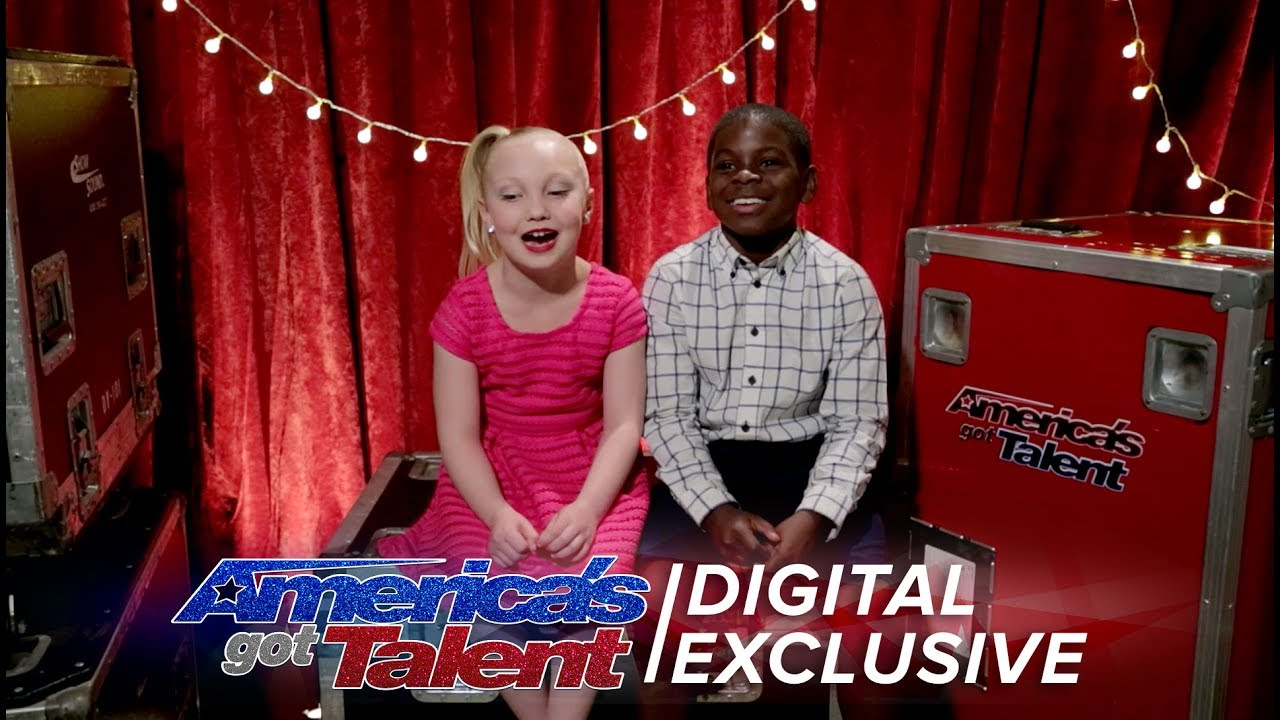 Americas got talent 2017 june 27 - Kid Dancers Artyon And Paige Relive Their Agt Performance America S Got Talent 2017