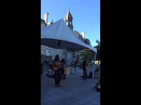 🌺Fun Music of the Andes at the historic old port of Montreal💓💓#street #musicians