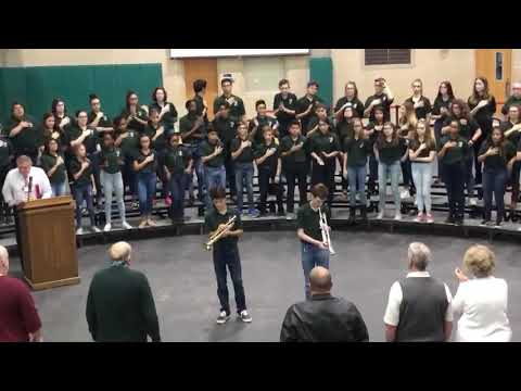 Echo Taps Bradley Middle School