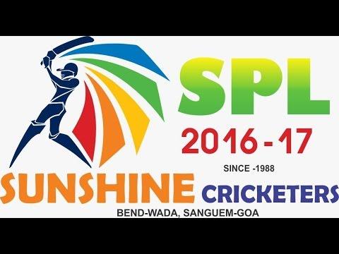 SPL 2016-17 SUNRISE CRICKETERS , GOA , SAGEUM