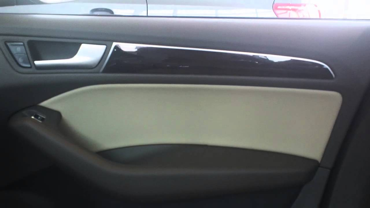 2014 Audi Q5 Pistachio Beige Interior Nc Youtube