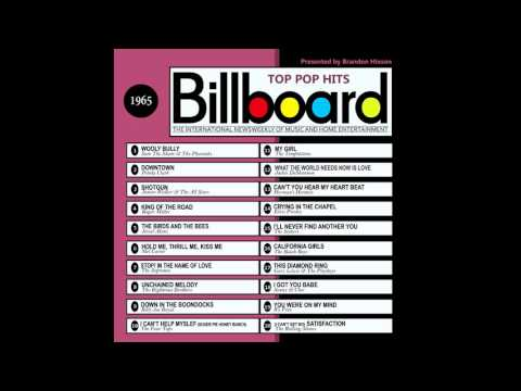 Billboard Top Pop Hits - 1965