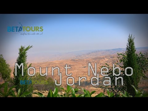 Mount Nebo Jordan 4K travel guide bluemaxbg.com