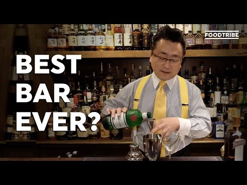 Visiting One Of The Best Bars In The World - Bar High Five In Tokyo