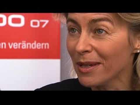 Ursula von der Leyen über die IdeenExpo